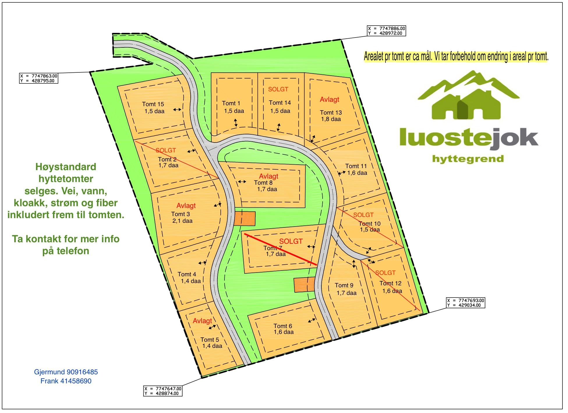 oppdatert kart Oppdatert Kart Luostejok Hyttegrend | Luostejok Hyttegrend oppdatert kart